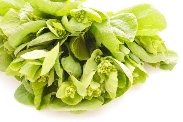 小松菜の薹(とう)